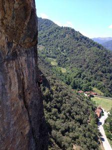 como superar el miedo con la escalada